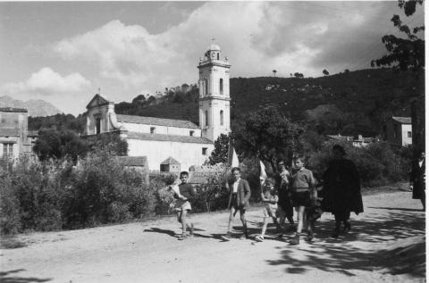 Jeunesse pianaise en route vers le tombeau
