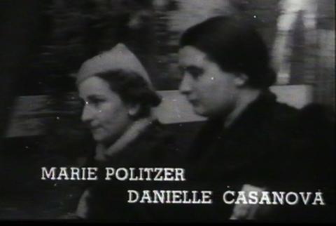 Danielle Casanova et Maï Politzer