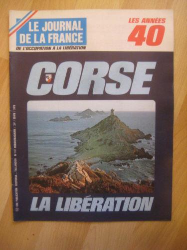 Livres tous bandits d 39 honneur r sistance et lib ration de la corse - Le journal de la corse ...