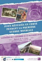 juifs réfugiés en Corse 1ere guerre mondiale