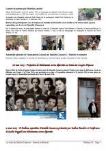 asssociation des Amis de Danielle Casanova-Histoire et Mémoire activités 2016 Bulletin N°2