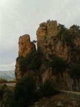 corse, Piana, roches rouges, calanche