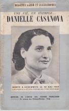 Danielle Casanova déportée và Auschwitz Birkenau