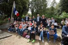 danielle Casanova commémoration 2016 Hommage Ecole de Piana Gilles Simeoni Jean-Guy Talamoni